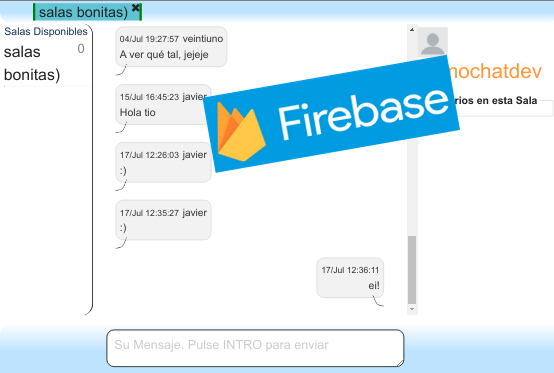 Aplicativo web de Chat en programación reactiva