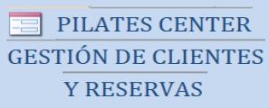 Gestión de clientes y reservas para gimnasio